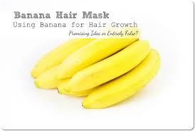 banana for hair banana hair mask using banana for hair growth