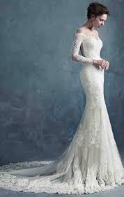 mermaid wedding dresses trumpet bridal gowns dressafford