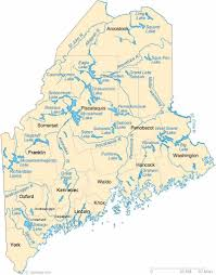 Map Of Usa With Rivers by Maine State Maps Usa Maps Of Maine Me Map Usa Maine Moli Map