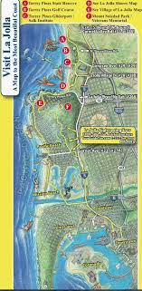 la jolla map map of la jolla la jolla san diego things to do