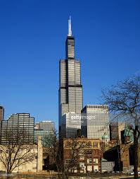 Sears Tower by Sears Tower In Chicago Usa Stock Photo Getty Images