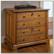 Wood File Cabinets With Lock by Wood Cabinet Lock File Cabinet 4 Drawer Wood File Cabinet With