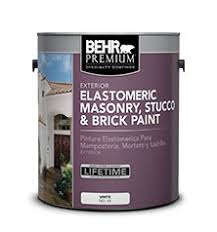 specialty elastomeric masonry stucco and brick paint behr
