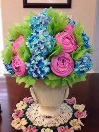 cupcake flowers best 25 cupcake flower bouquets ideas on cupcake