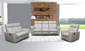 Grey Recliner Sofa Gray Leather Reclining Sofa And Loveseat Grey Recliner