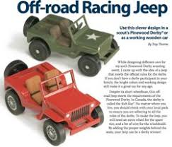 toy jeep woodworking plans and information at woodworkersworkshop