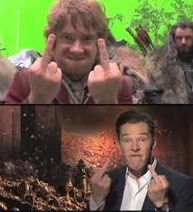 Hobbit Meme - hobbit meme because fuck you by marleycake on deviantart
