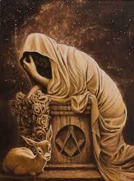 the widow from the tribe of naphtali by stelf 2016 masonic symbolsmagic artfreemasonrydark