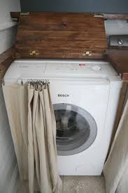 washer and dryer cover ups astounding curtains to hide washer and dryer gallery best