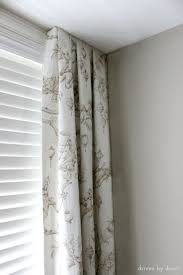 Corner Window Curtain Rod Best 25 Corner Window Curtains Ideas On Pinterest Corner Window