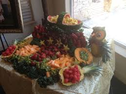fruit table display ideas deligance chocolate fountains fruit creations desert catering