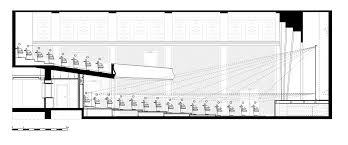Movie Floor Plans Filmtheater Weltspiegel Cottbus Studio Alexander Fehre Archdaily