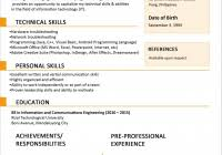 latest resume format current resume format sample resume for