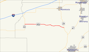 Indiana Road Conditions Map Indot Project To Improve State Roads 39 And 142 In Morgan County