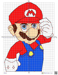 this graphing worksheet will produce a four quadrant coordinate