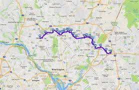 Marc Train Map Dc Metro Purple Line Map Light Rail In Maryland