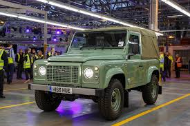 land rover 110 overland here u0027s a look at the last land rover defender ever to be built