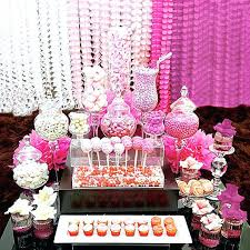 baby shower candy table for pink candy for baby shower pink baby shower candy table ideas pink