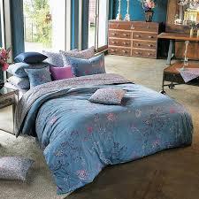 Beautiful Duvet Covers Sateen Vintage Blue Purple U0026 Pink Floral Duvet Cover Set