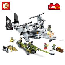 lego army vehicles online shop sembo block helicopter artillery compatible legos wars
