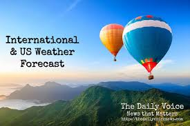 international and u s weather forecast april 2 2016 the daily