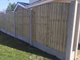 excellent quality arch top feather edge new fence panels in