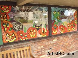 halloween paintings ideas may 2013 murals u0026 window paintings in victoria bc by mario labonte