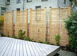 Backyard Privacy Fence Ideas Backyard Privacy Fence Inspiration Lattice Privacy Fence Ideas