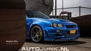 blue nissan skyline nissan skyline r34 nismo 001 r tune foto u0027s autojunk nl 170350