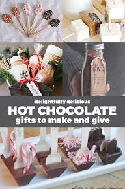 hot chocolate gift 5 ways to give hot cocoa