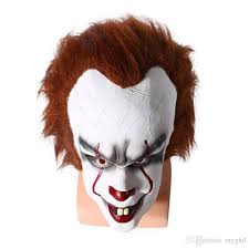 2017 christmas mask toy pennywise costume it the movie by stephen