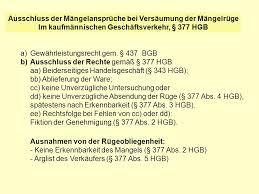 mängelansprüche un warenkaufrecht un convention on contracts for the
