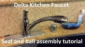 Delta Allora Kitchen Faucet Tutorial Delta Kitchen Faucet Seal And Ball Assembly Replacement