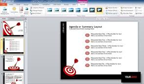 how to edit a powerpoint template adding a footer to your