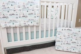 Crib Bedding Green Bedding Coral Mint Gray Beddingcoral And Grey Crib Bedding Green