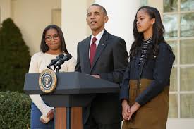 what president obama told his daughters after s win