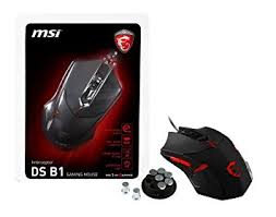 ds design msi usb optical gaming mouse with ergonomic design