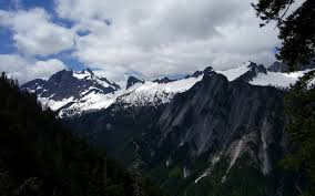 Ohio mountains images Three fingers salish peak ohio peak buckeye peak and squire JPG