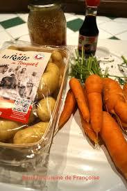comment cuisiner les rattes du touquet rattes du touquet et carottes ou comment des pommes de terre et