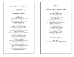 Programs For Funeral Services 100 Program For Funeral Funeral Program For Albert Thompson