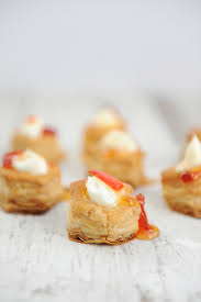 Easy Appetizers by Easy Appetizers For A Party Cream Cheese And Pepper Jelly Puffs