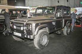 kahn land rover land rover defender based kahn flying huntsman prices and spec