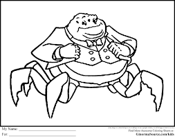 coloring page monsters inc monsters inc coloring pages monster color page awesome waternoose