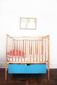 Ikea Mini Crib Best 25 Crib Storage Ideas On Pinterest Nursery Storage