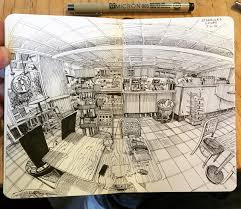 the science behind wide angle sketching urban sketchers