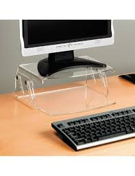 adjustable monitor stand for desk perspex height adjustable monitor stand online ergonomics