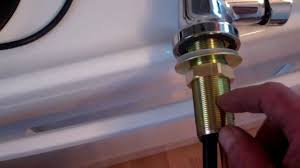 Repair Kit For Moen Kitchen Faucet How To Remove An Old Kitchen Faucet And Install A New One Youtube