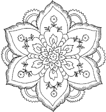 detailed coloring pages for adults printable kids colouring inside