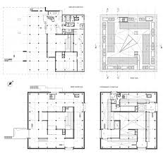 National Theatre Floor Plan by National Museum Of Western Art In Tokyo Le Corbusier Archeyes