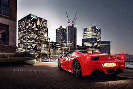 ferrari 458 italia wallpaper red ferrari 458 italia by tomirri photography 1600px wallpaper